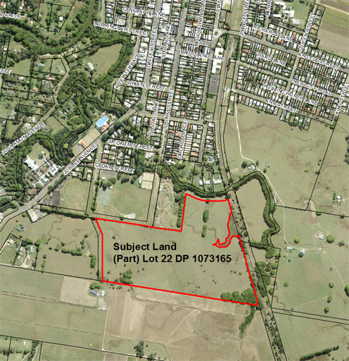Map of Lot 22