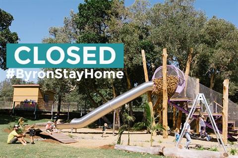 Railway Park Closed #ByronStayHome