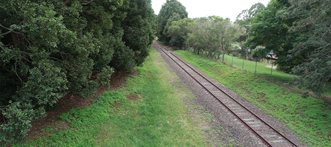 Byron multi use rail corridor