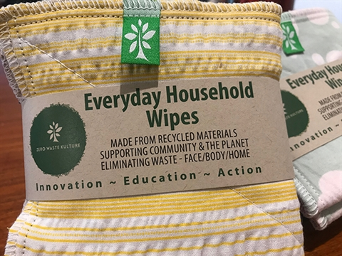 Zero Waste Kulture household cloths